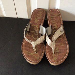 Sam Edelman wedge sandals size 7 1/2